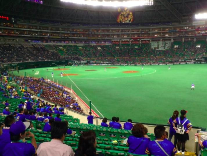 外野席の見え方の画像 ¥1,000