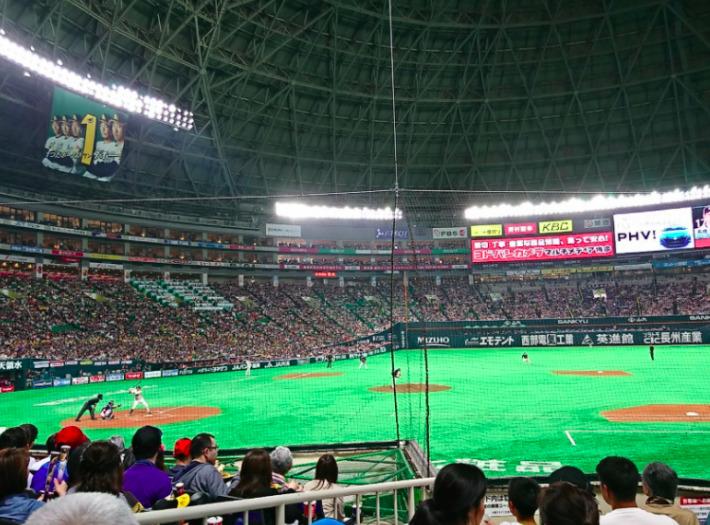 内野S指定席の見え方の画像 ¥4,000