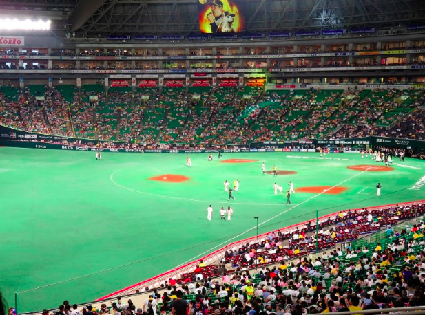 内野自由席の見え方の画像 ¥1,800
